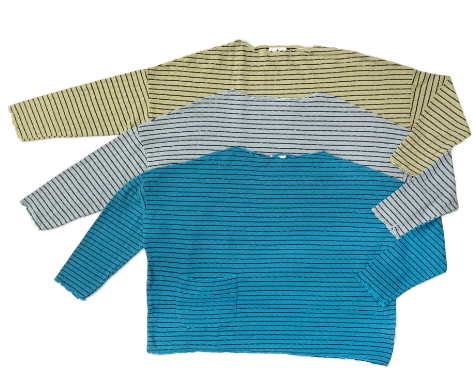 Motion onesize tencel-blend knit pullovers. More colours in our online store.