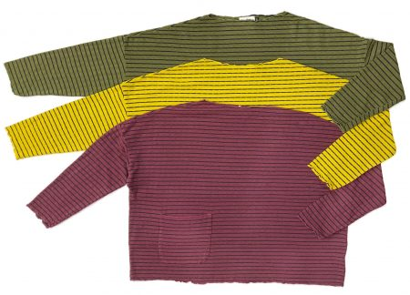 Motion tencel-blend onesize pullovers. New colours available.