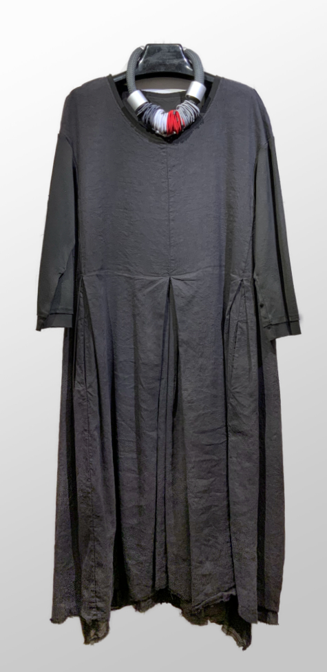 Hannoh Wessel silk and linen blend dress.