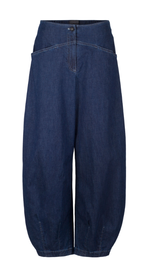 Oska lightweight denim trousers.