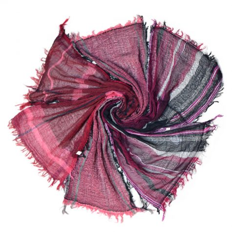 Tamaki Niime small 100% cotton scarves.