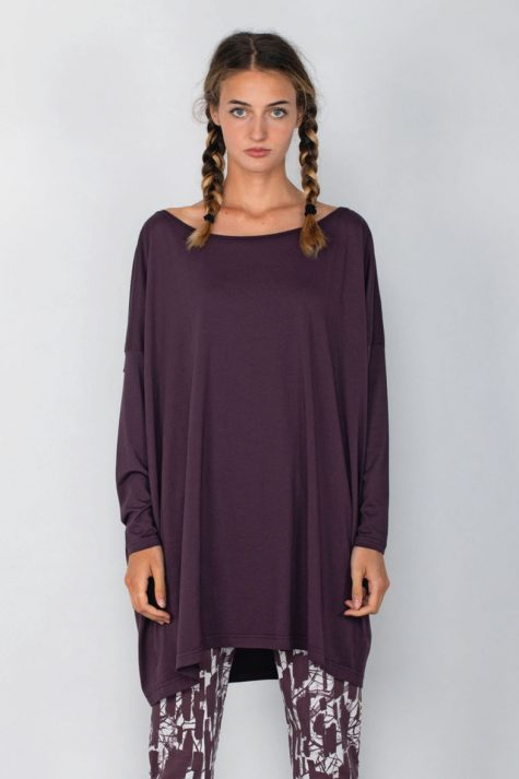 Mama B cotton knit onesize tunic.