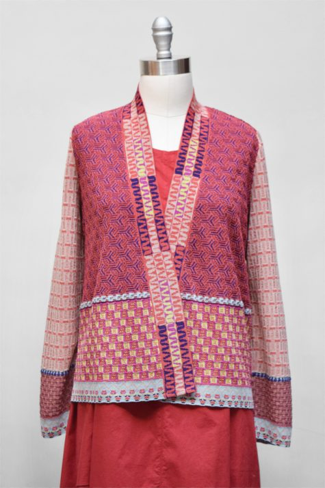 Catherine Andre knit open cardigan.