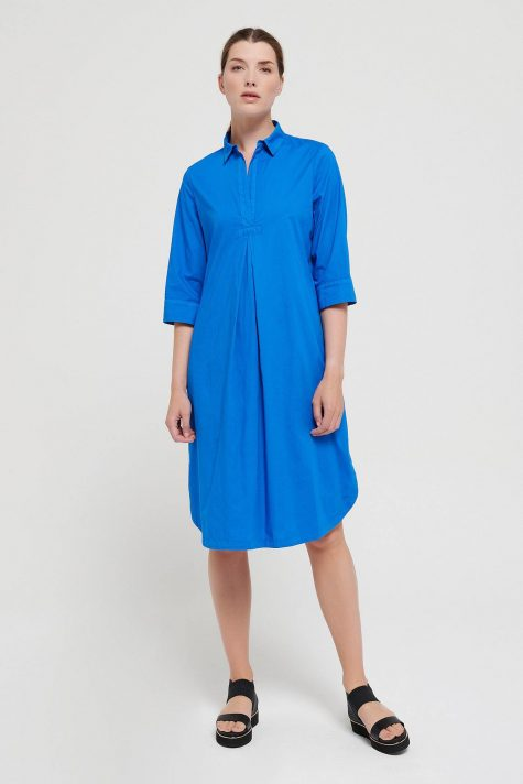 Mes Soeurs et Moi cotton shirtdress with 3/4 sleeves.