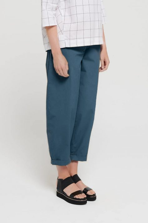 Mes Soeurs et Moi tapered pants in brushed cotton.