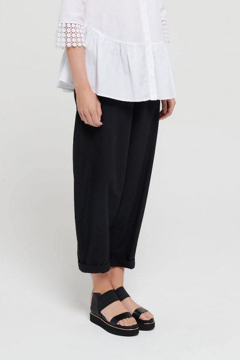 Mes Soeurs et Moi cotton seersucker tapered pants.
