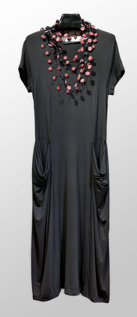 Elemente Clemente short-sleeve knit dress.