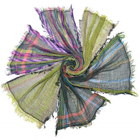 Tamaki Niime 100% cotton small scarves.