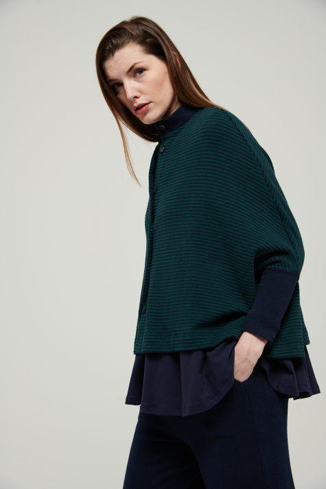 Mes Soeurs et Moi cozy knit boxy cardigan.