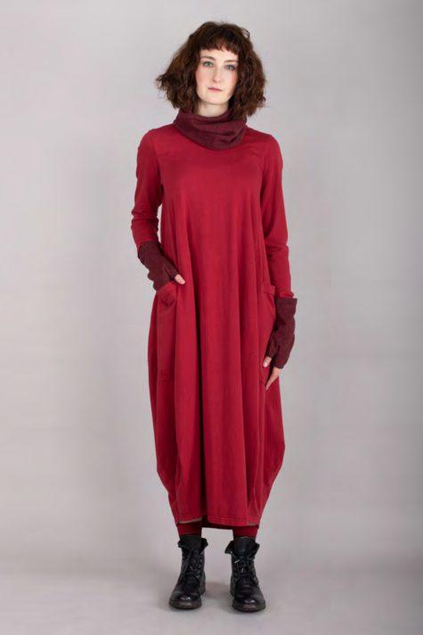 Mama B cotton knit long bubble dress.