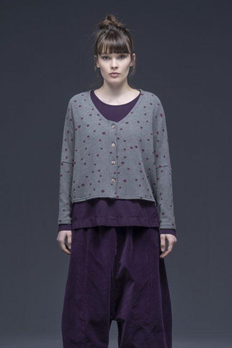 Neirami cozy knit button-front cardigan.