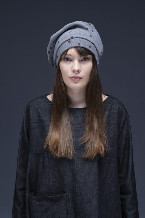 Neirami cozy knit slouchy beret.