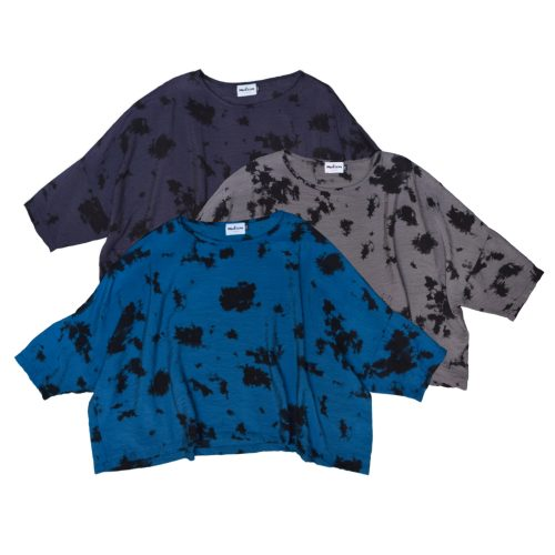 Motion onesize parachute cropped tops, with an ink blot print.